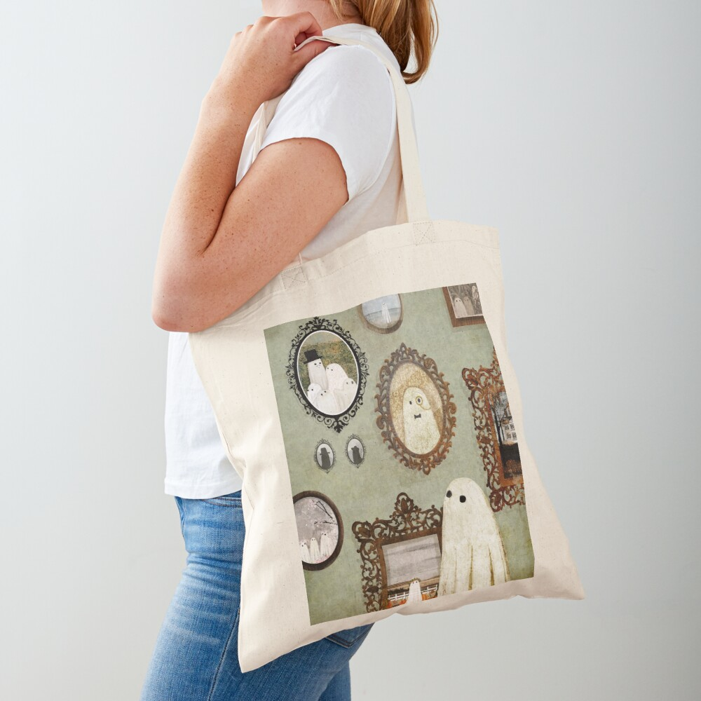 There's A Ghost in the Portrait Gallery Tote Bag