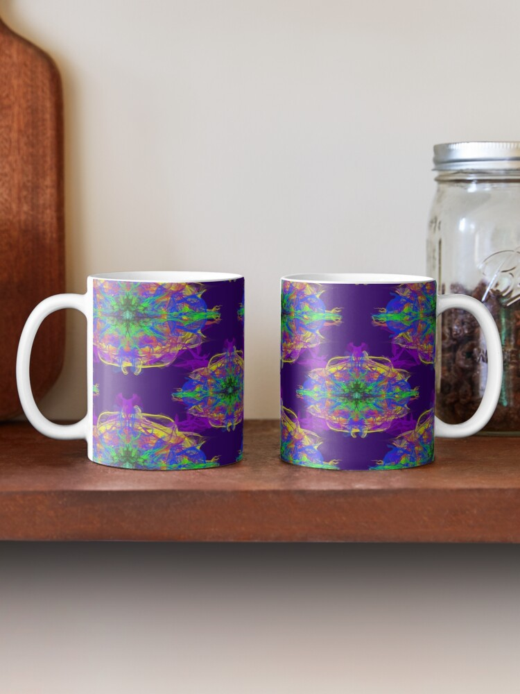 Alternate view of Psychedelic Mug