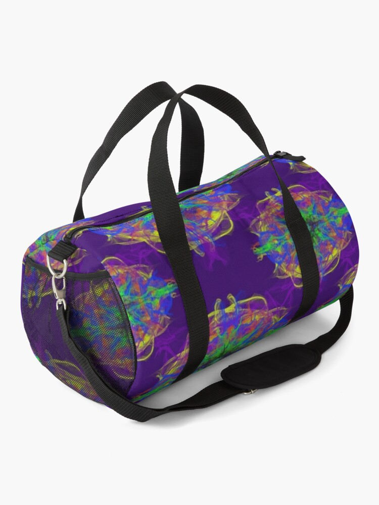Alternate view of Psychedelic Duffle Bag