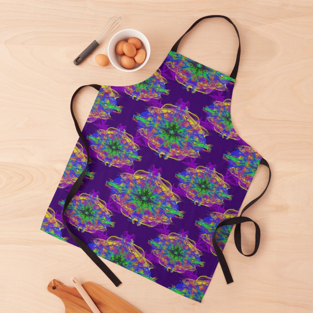 Psychedelic Apron