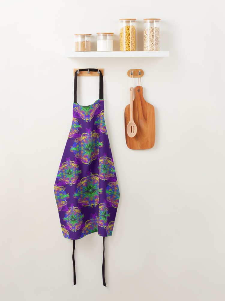 Alternate view of Psychedelic Apron