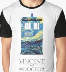 """""""Vincent and the Doctor"""" Graphic T-Shirt"""