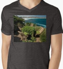 Ultimate Garden Furniture @ Sculptures By The Sea Men's V-Neck T-Shirt
