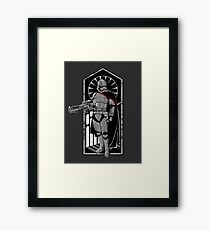 The Captain. Framed Print