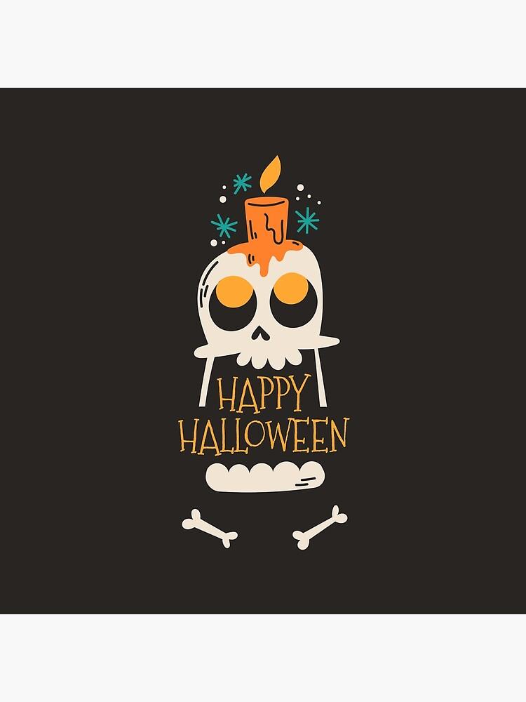 Happy Halloween Skeleton by mdikici