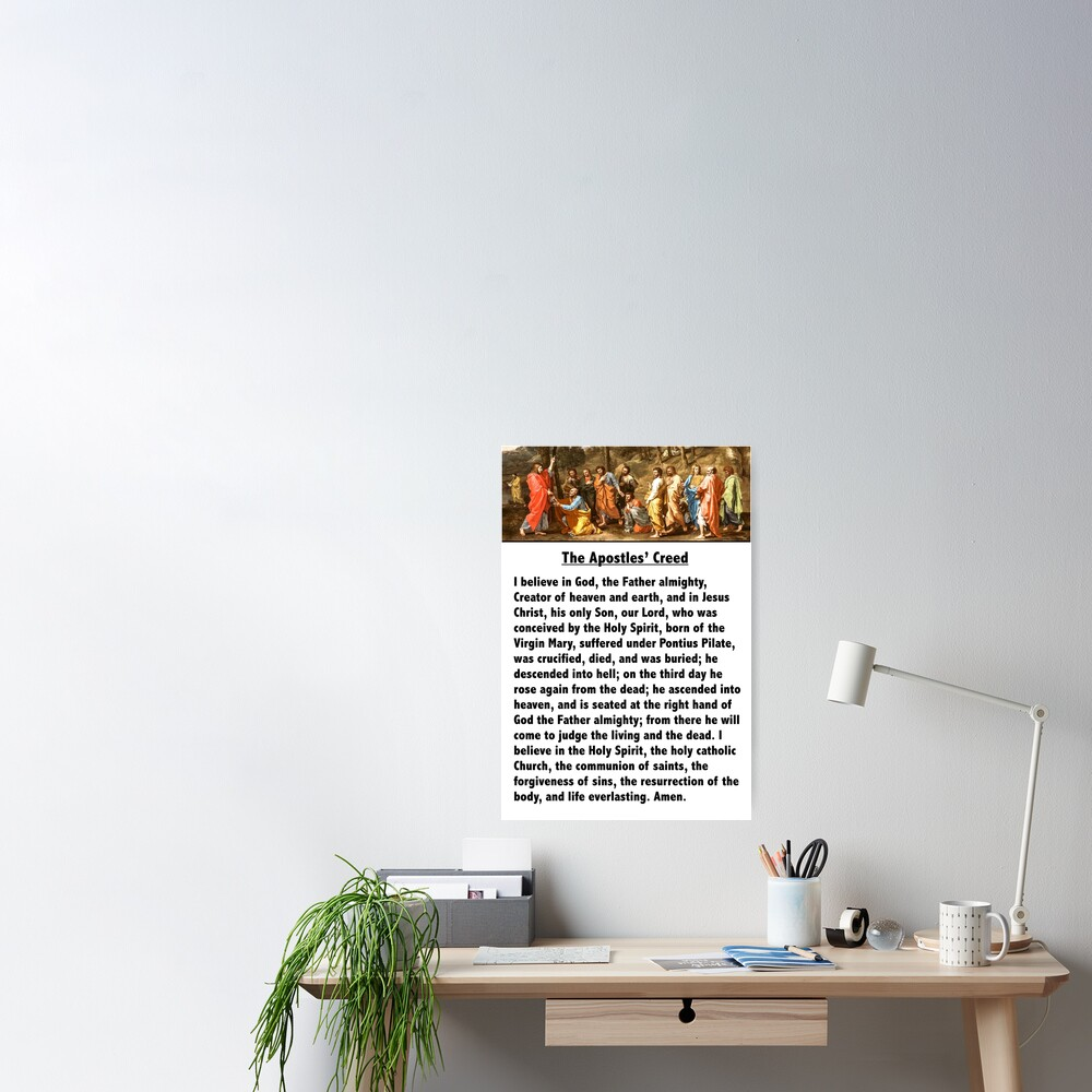 The Apostles' Creed Poster