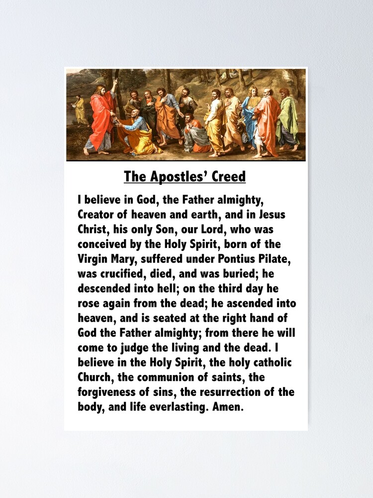 Alternate view of The Apostles' Creed Poster