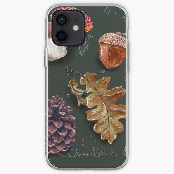 Autumnal Foliage iPhone Soft Case