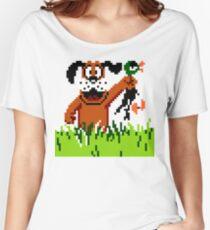 """Retro Retriever"" Duck Hunt Women's Relaxed Fit T-Shirt"