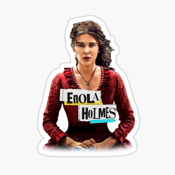 Camiseta de la película de Enola Holmes Pegatina