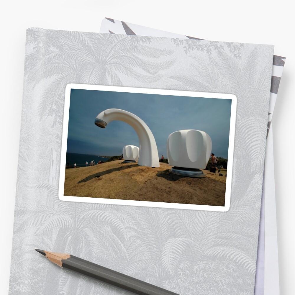 Big Tap @ Sculptures By The Sea, Australia 2011 by muz2142