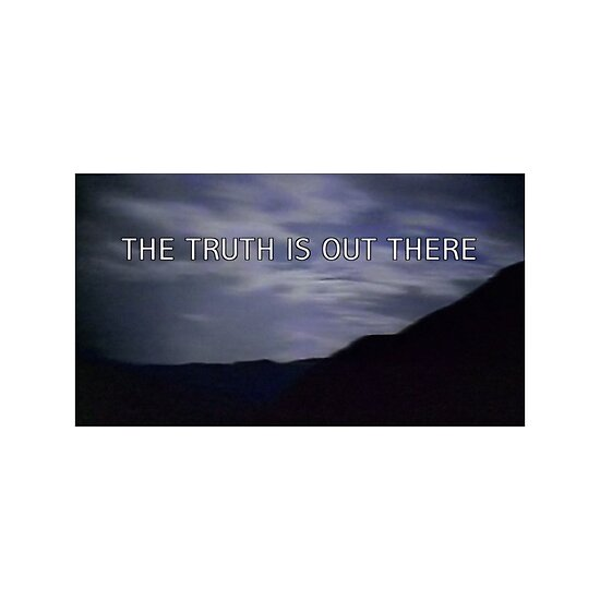 """X Files The Truth Is Out There Poster """"""""the truth ..."""