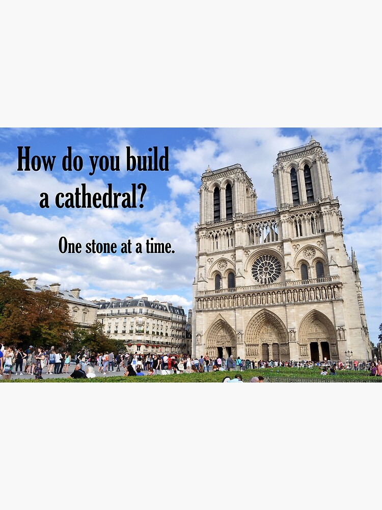 How Do You Build a Cathedral? - 1 by The-CRT-Shop