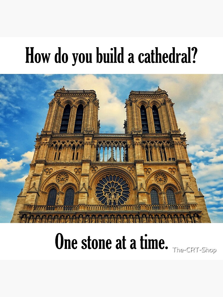 How Do You Build a Cathedral? - 3 by The-CRT-Shop