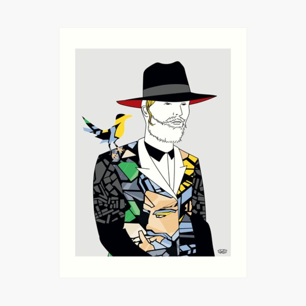 Hassidic with style | Modern and original jewish art Art Print