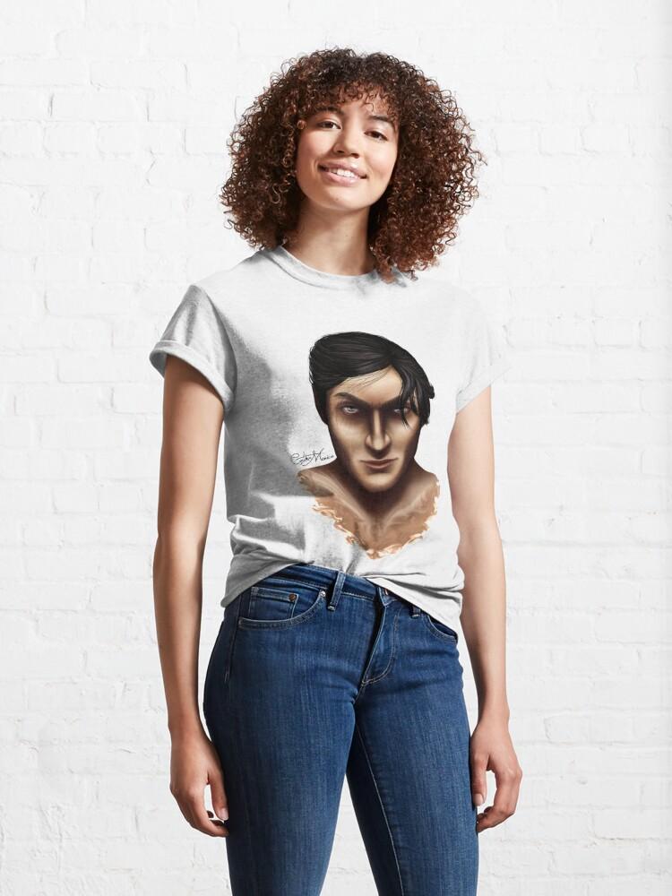 Alternate view of Portrait - The Darkling Classic T-Shirt