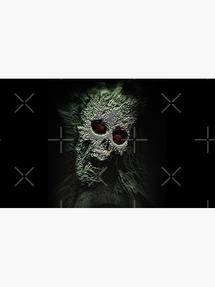 Scary Skull by GothCardz
