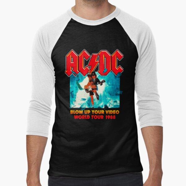 Angus AC/DC Baseball ¾ Sleeve T-Shirt