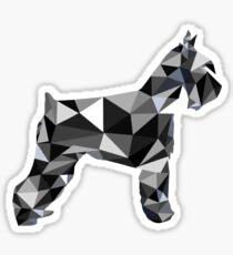 poli schnauzer Sticker