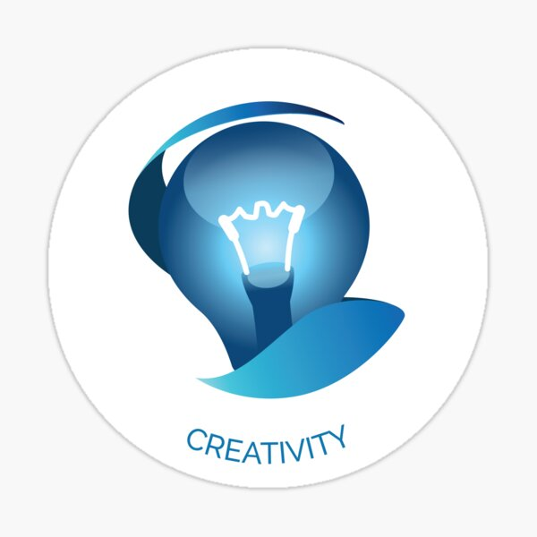 Creativity VIA Character Strength Sticker
