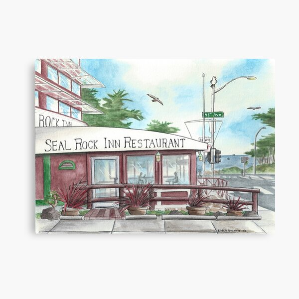 The Seal Rock Inn Canvas Print