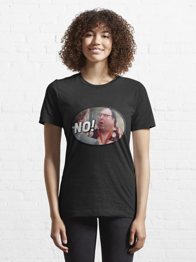 """Alternate view of The Revolting Blob says, """"No!"""" Essential T-Shirt"""