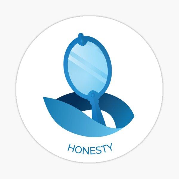 Honesty VIA Character Strength Sticker