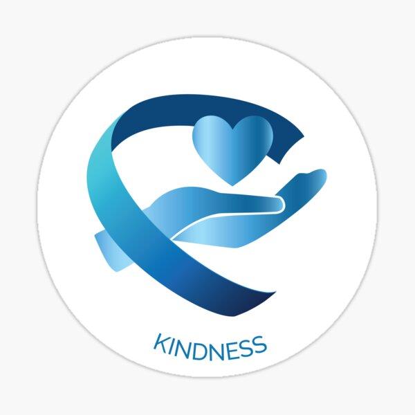 Kindness VIA Character Strength Sticker