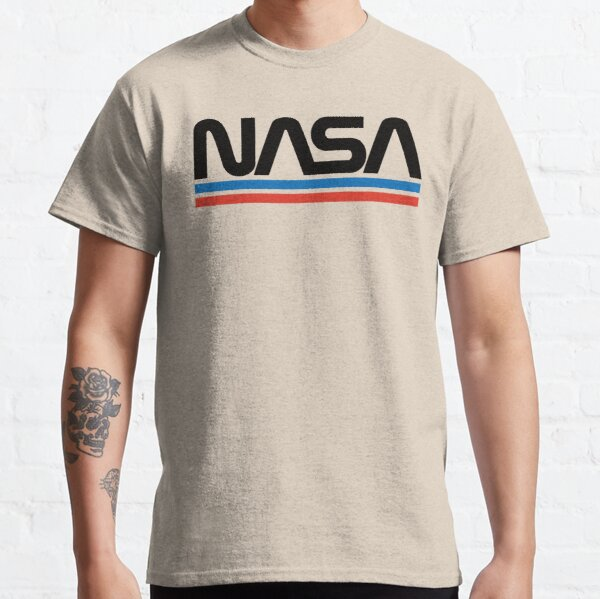 NASA Vintage Worm Emblem Classic T-Shirt