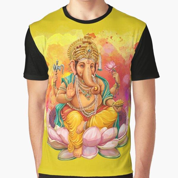 Ganesha Graphic T-Shirt