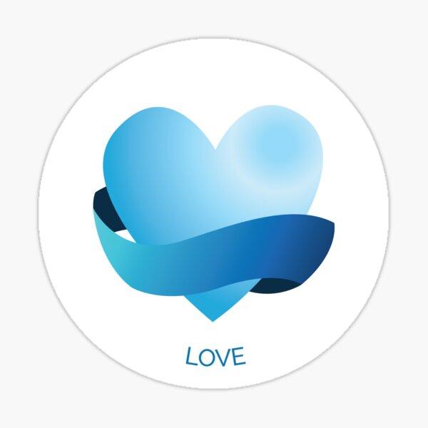 Love VIA Character Strength Sticker