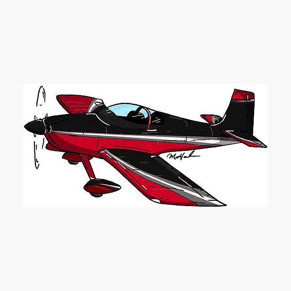RV6 N686JC Photographic Print