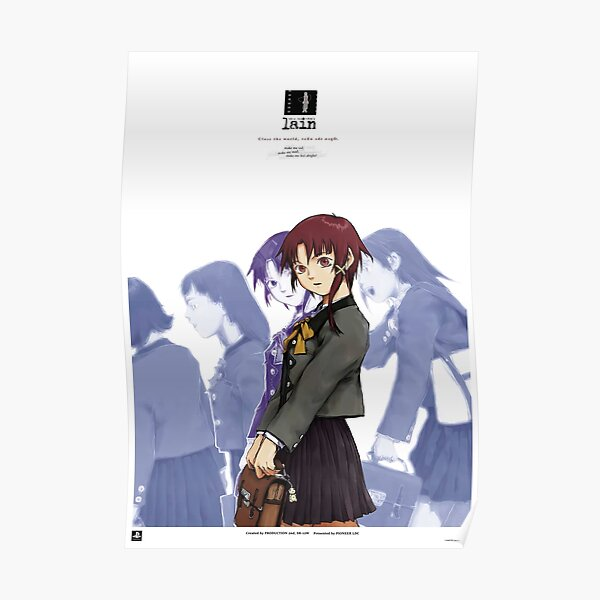 Serial Experiments Lain PS1 Promo Poster