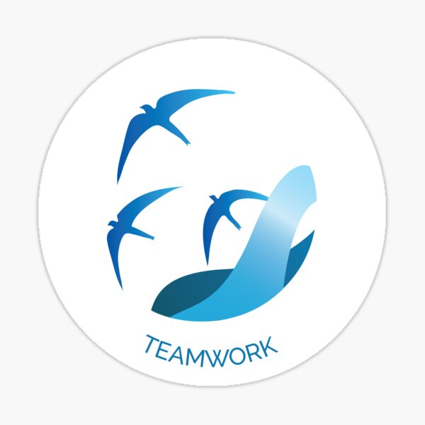 Teamwork VIA Character Strength Sticker