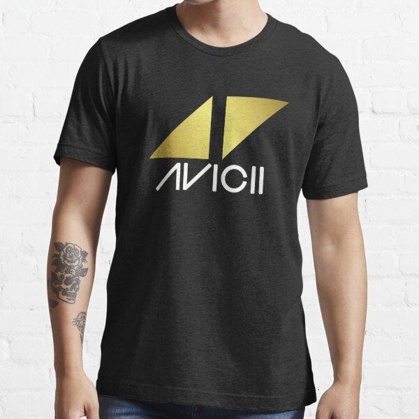 ◢◤Golden Avicii Logo Essential T-Shirt