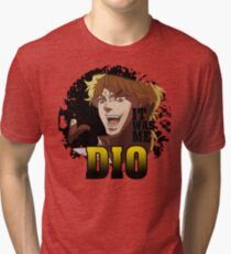 JoJo's Bizarre Adventure - IT WAS ME DIO! Logo Tri-blend T-Shirt