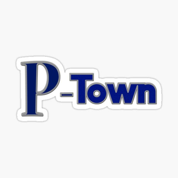 P Town or P-Town Sticker