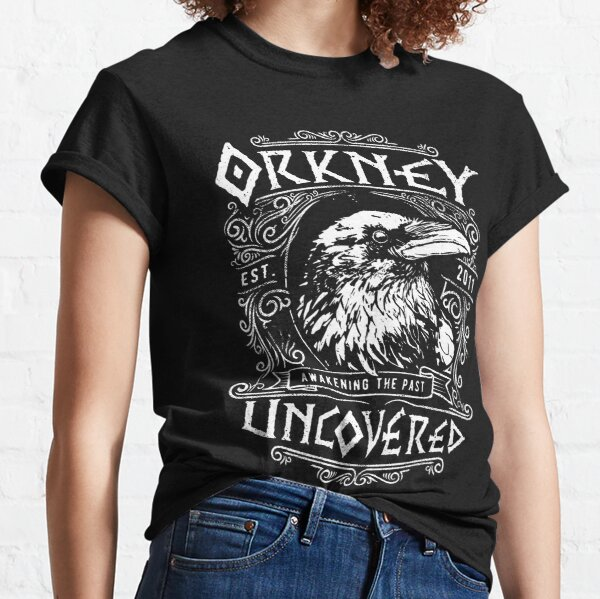 Orkney Uncovered - Raven Classic T-Shirt