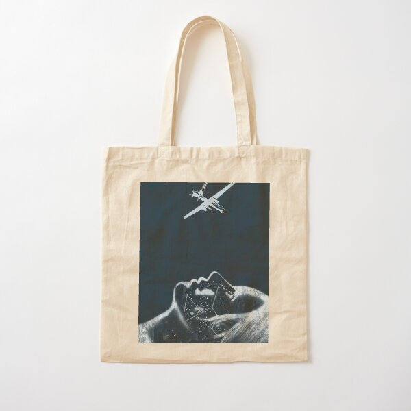 Dreaming of Drones Cotton Tote Bag