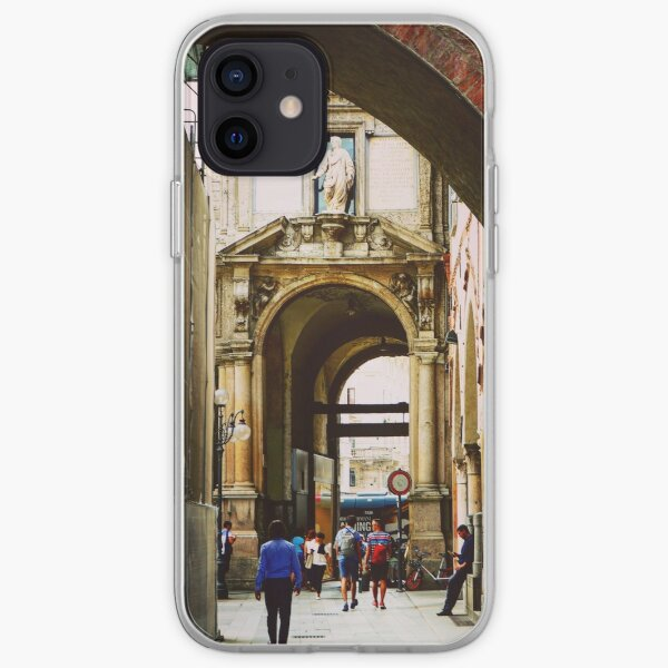 Piazza dei Mercanti, Milano, Italy iPhone Soft Case