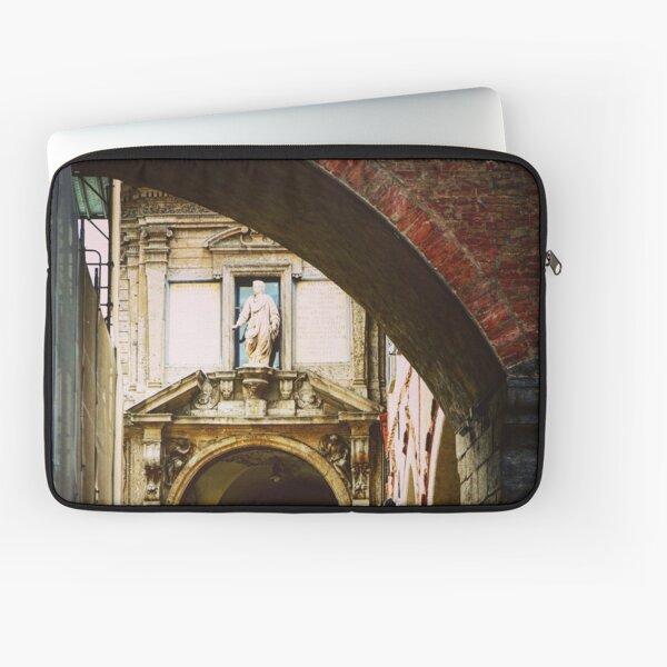 Piazza dei Mercanti, Milano, Italy Laptop Sleeve