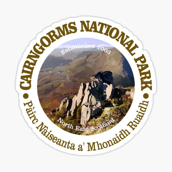 Cairngorms National Park (NP) Sticker