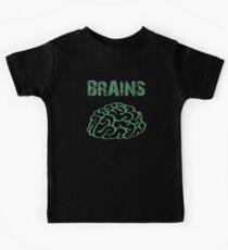 BRAINS by Zombie Ghetto Kids Tee