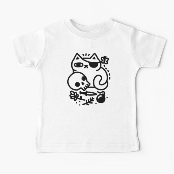 Badass Cat Baby T-Shirt