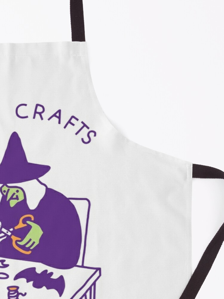 Alternate view of Witch Crafts Apron