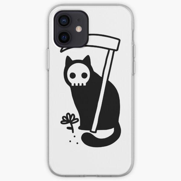 Grim Kitty iPhone Soft Case