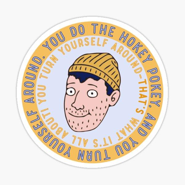 Todd Chavez Hokey Pokey Sticker