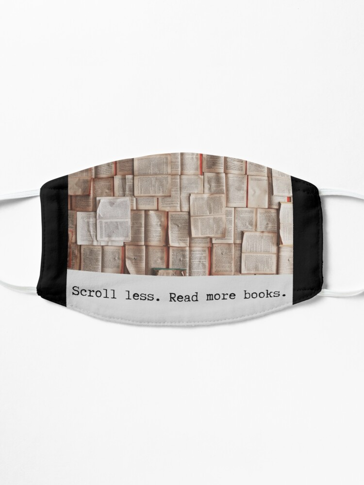 Alternate view of Books With Laurie (bookswithlaurie.com) Mask