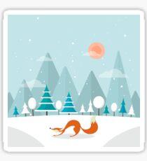 The Fox is back Sticker