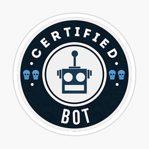 Certified BOT - Team Roles Sticker